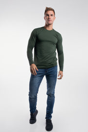 Havok Long Sleeve in Olive - thumbnail image no.4