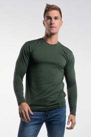 Havok Long Sleeve in Olive - thumbnail image no.1