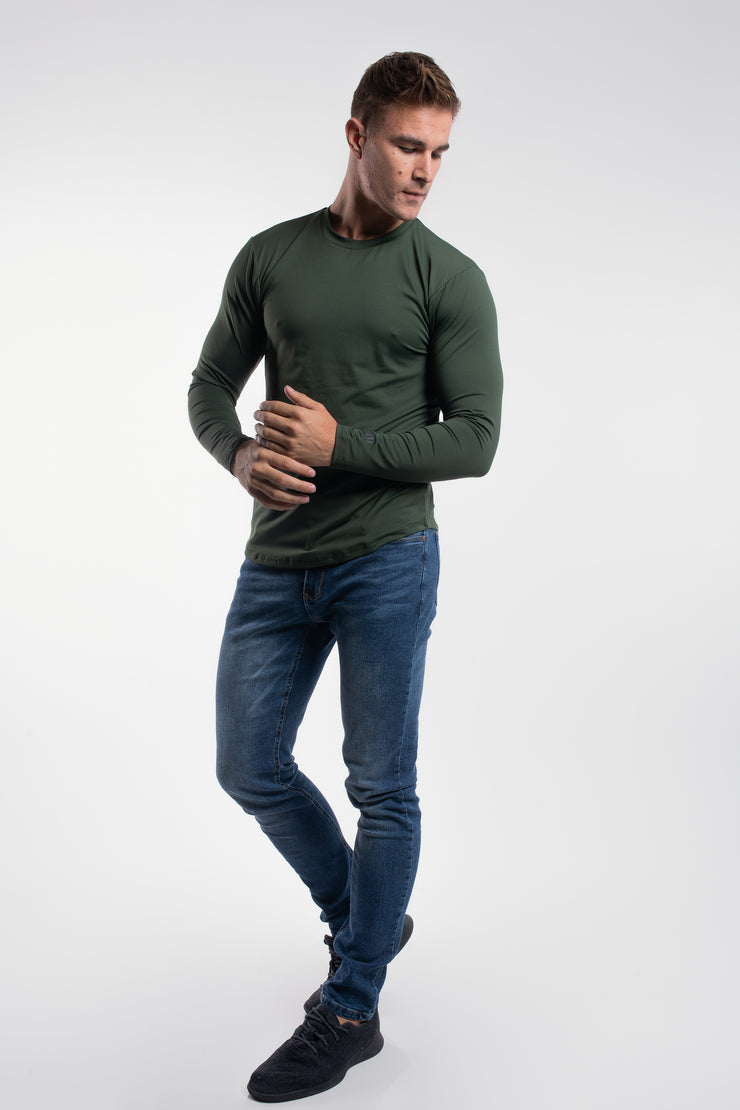 Havok Long Sleeve in Olive - image no.2