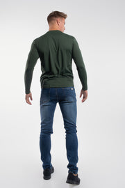 Havok Long Sleeve in Olive - thumbnail image no.3