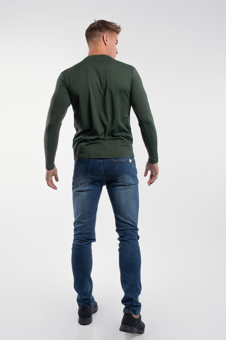 Havok Long Sleeve in Olive - image no.3