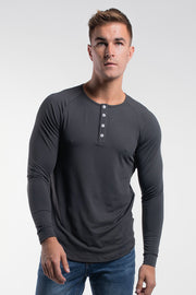 Scout Henley in Charcoal