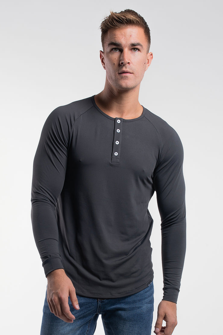 Scout Henley in Charcoal - image no.1