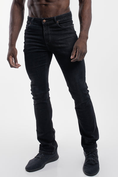Boot Cut Athletic Fit in Stone Gray