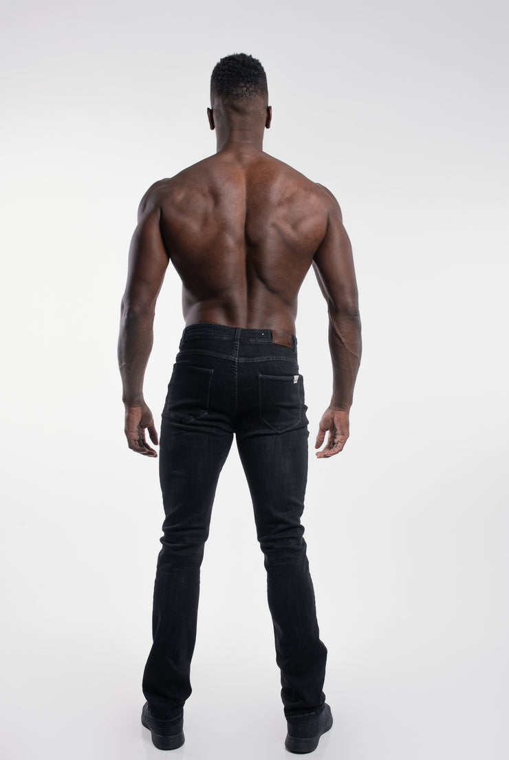 Boot Cut Athletic Fit in Stone Gray - image no.3