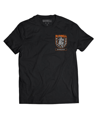 """Barbell Athlete"" Strong Shirt in black"