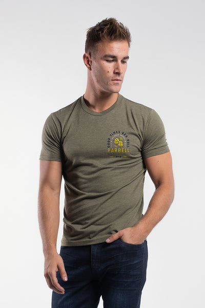 Good Times Shirt in Olive