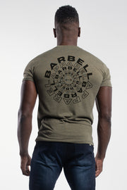 Hypnotic Tee in Olive - thumbnail image no.1