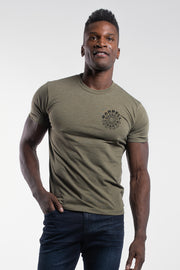 Hypnotic Tee in Olive - thumbnail image no.2