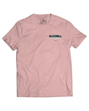 Martins Licis x Barbell Apparel Wreck It Gym Invite Only T- Shirt Pink - thumbnail image no.2