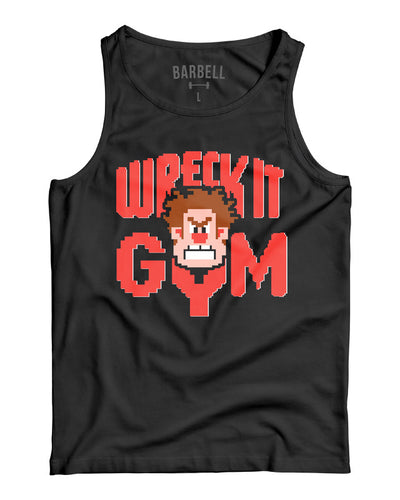 Martins Licis x Barbell Apparel Wreck It Gym Tank Black