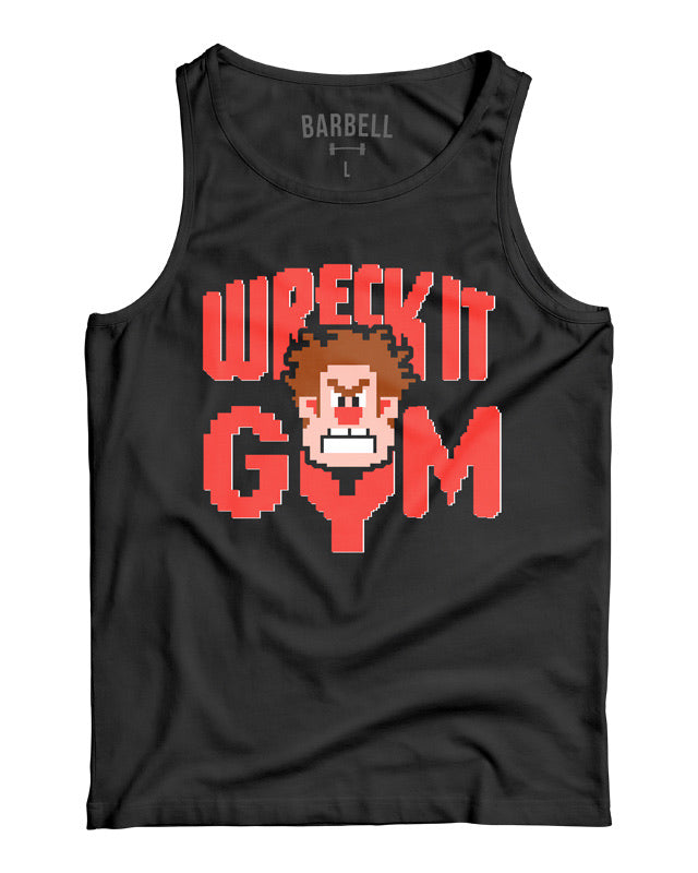 "Martins Licis x Barbell Apparel ""Wreck It Gym Tank"" Black"