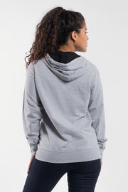 Barbell Hoodie in Gray - Womens - thumbnail image no.2