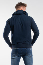 Barbell Hoodie in Navy - thumbnail image no.2