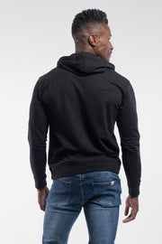 Barbell Hoodie in Black - thumbnail image no.2