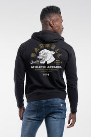 The Panther Hoodie in Black - thumbnail image no.2