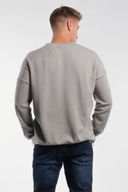 Thunder Thighs Pullover in Stone - thumbnail image no.2