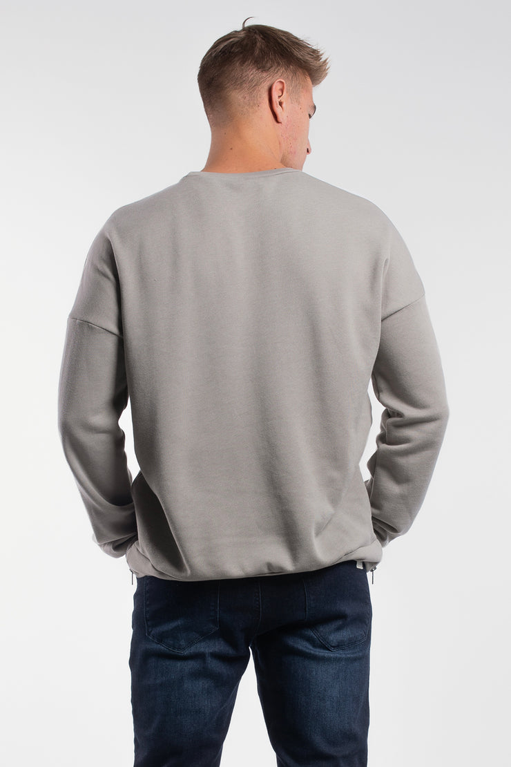 Thunder Thighs Pullover in Stone - image no.2