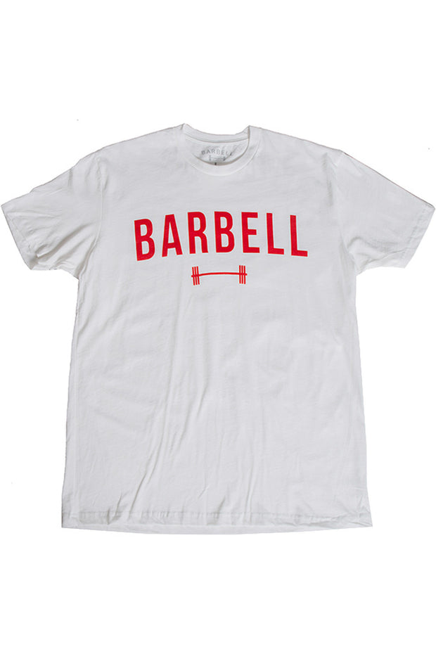"""Barbell"" Shirt in White"