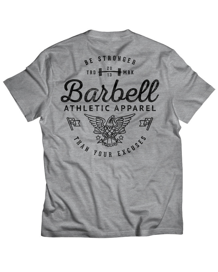 """Be Stronger"" Shirt in Gray"