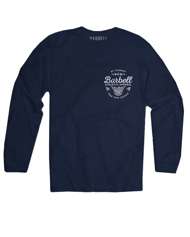 """Be Stronger"" Long Sleeve in Navy"