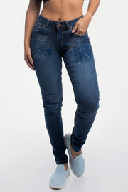 Slim Athletic Fit in Distressed Medium Wash - thumbnail image no.1