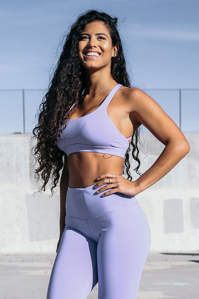 Form Sports Bra in Lavender