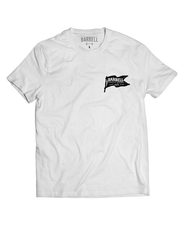 """Built To Last"" Shirt in White"