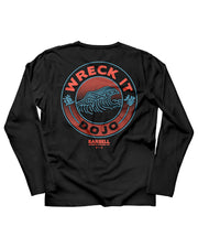 Martins Licis X Barbell Apparel Wreck It Dojo Long Sleeve Shirt in Black - thumbnail image no.1