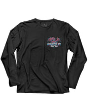 Martins Licis x Barbell Apparel Wreck It Dragon Long Sleeve Shirt Black - thumbnail image no.2