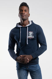 Freedom Hoodie in Navy - thumbnail image no.1