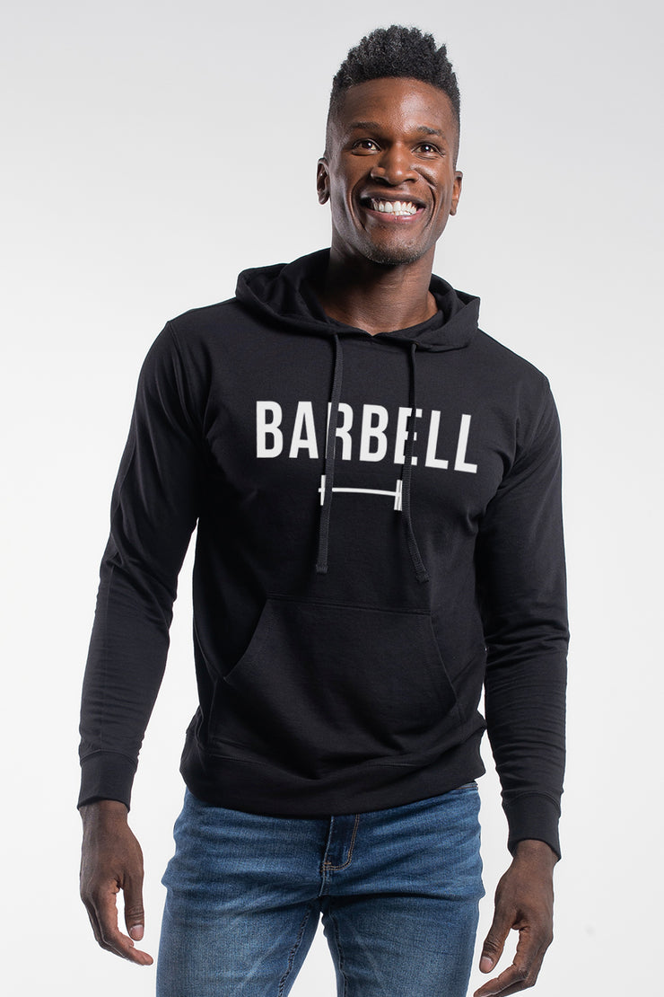 Barbell Hoodie in Black - image no.1