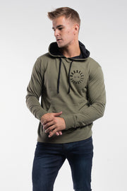 Full Circle Hoodie in Olive - thumbnail image no.1