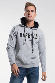 Barbell Hoodie in Gray - thumbnail image no.1
