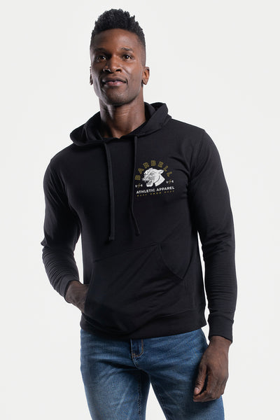 The Panther Hoodie in Black