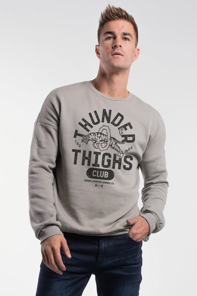 Thunder Thighs Pullover in Stone