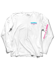 "Martins Licis x Barbell Apparel ""Wreck It Gym Invite Only"" Long Sleeve Shirt White"