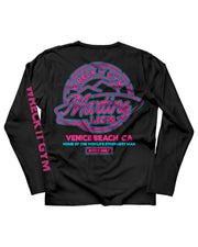 Martins Licis x Barbell Apparel Wreck It Gym Invite Only Long Sleeve Shirt Black - thumbnail image no.1