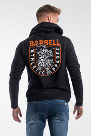 The Leopard Hoodie in Black - thumbnail image no.2