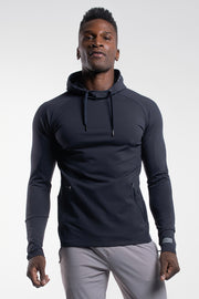 Stealth Hoodie in Navy - thumbnail image no.1