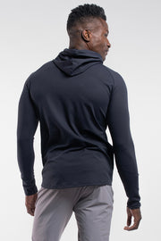 Stealth Hoodie in Navy - thumbnail image no.3