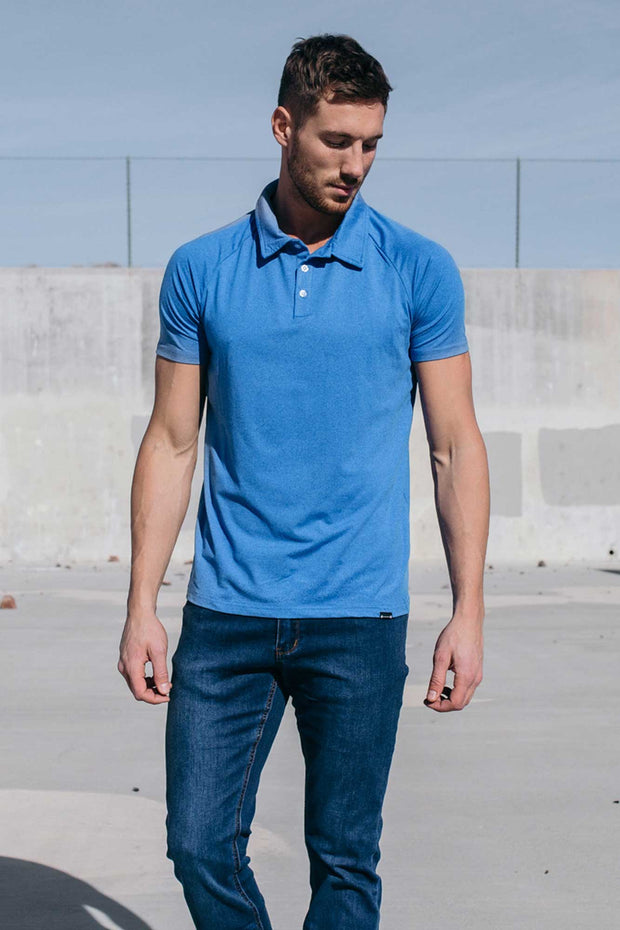 Havok Polo in Blue