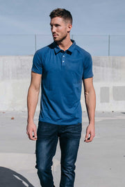 Havok Polo in Cobalt