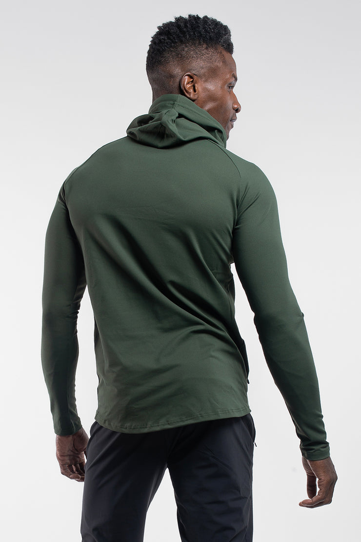 Stealth Hoodie in Rifle Green