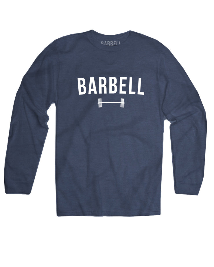 Barbell Logo Long Sleeve in Navy - image no.1