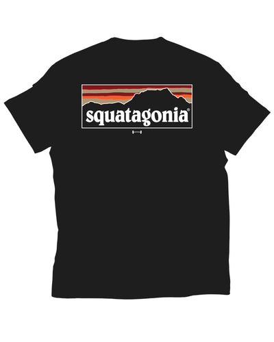 """Squatagonia"" Shirt in Black"