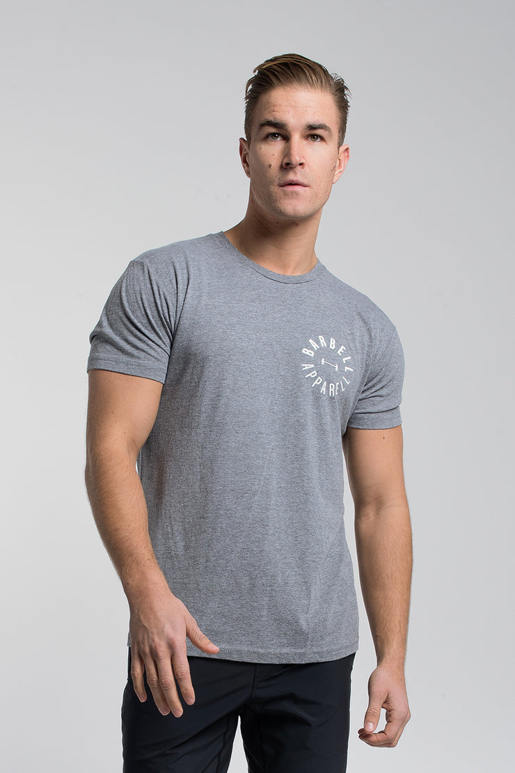 Full Circle Tee in Gray