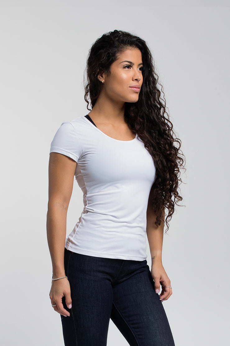 Rise Shirt In White - image no.1