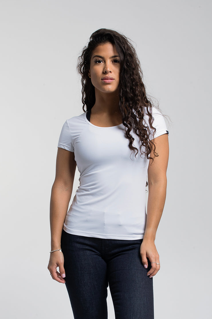 Rise Shirt In White
