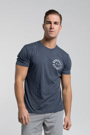 Full Circle Tee in Navy
